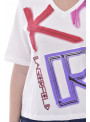 Tee Shirt KARL LAGERFELD KL21WTS02