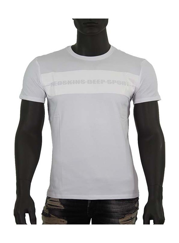 Tee Shirt Redskins, COWBRA, Manches courtes, col rond